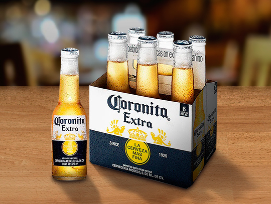 Six Pack de Coronita Extra